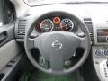 2011 Nissan Sentra Charcoal Interior Steering Wheel Photo