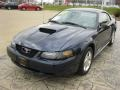 2003 True Blue Metallic Ford Mustang V6 Coupe  photo #2