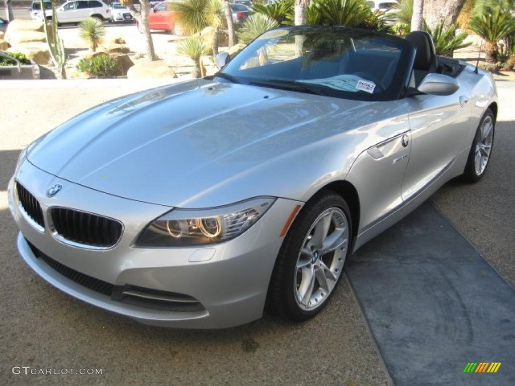 Titanium Silver Metallic 2010 Bmw Z4 Sdrive30i Roadster Exterior Photo 39299045 Gtcarlot Com