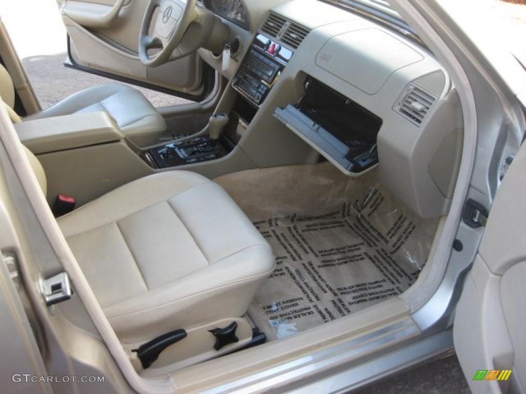 Parchment interior 1998 mercedes benz c 230 photo for Mercedes benz interior parts online