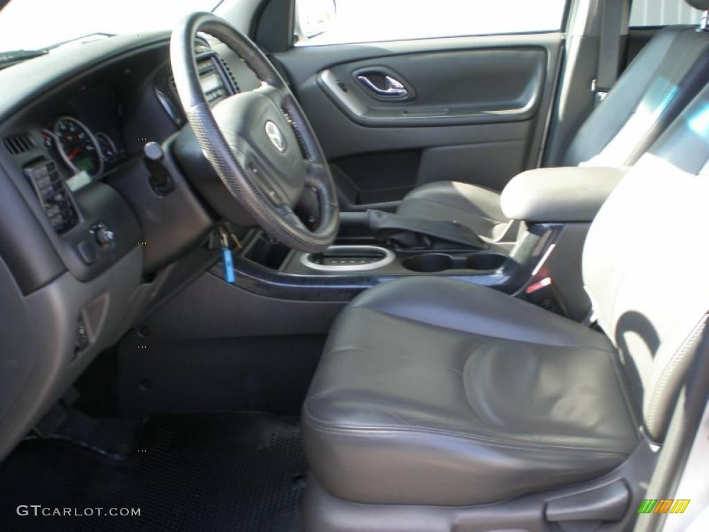 dark flint gray interior 2006 mazda tribute i 4wd photo. Black Bedroom Furniture Sets. Home Design Ideas