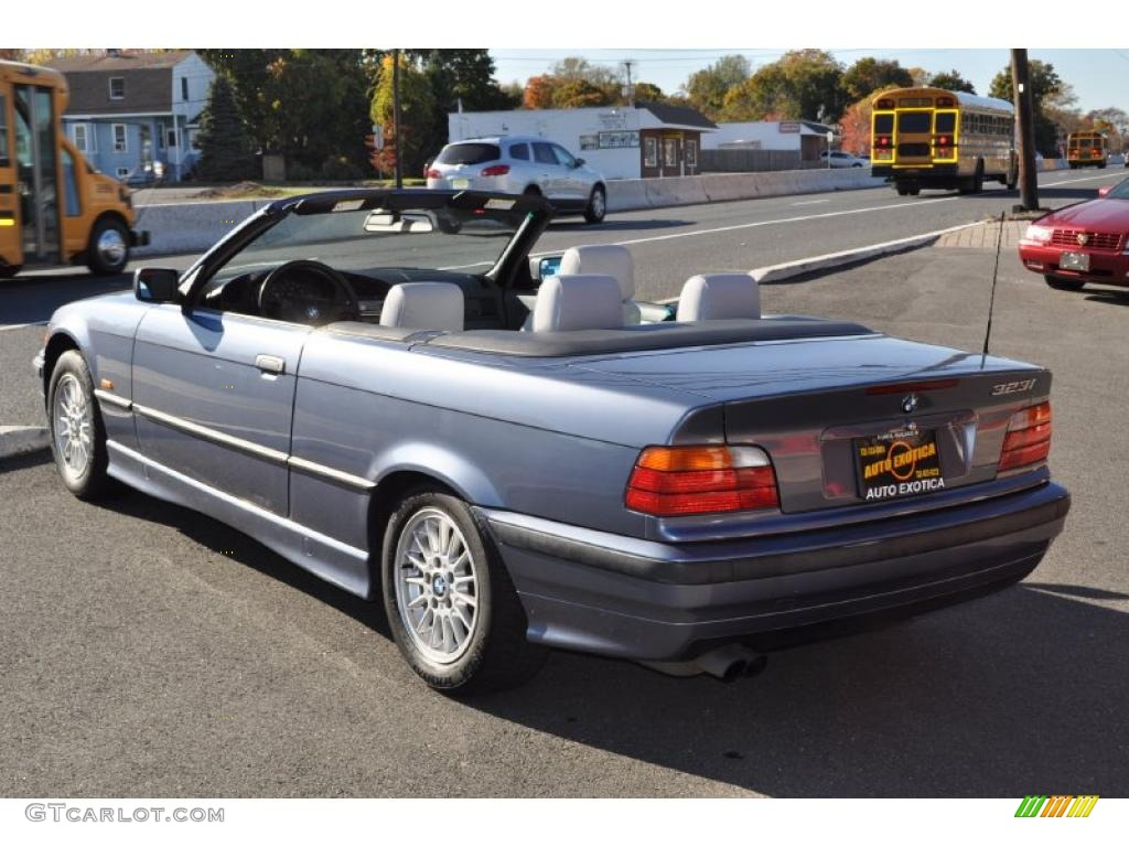 steel blue metallic 1999 bmw 3 series 323i convertible. Black Bedroom Furniture Sets. Home Design Ideas