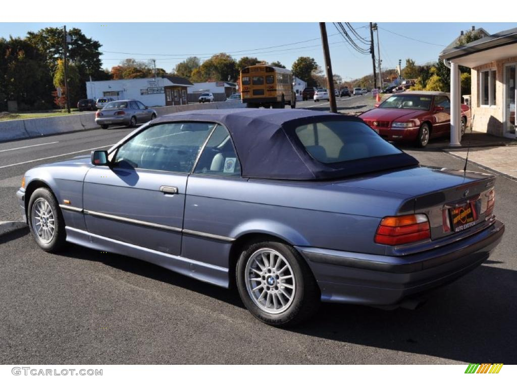 Steel Blue Metallic 1999 BMW 3 Series 323i Convertible Exterior Photo  #39305193