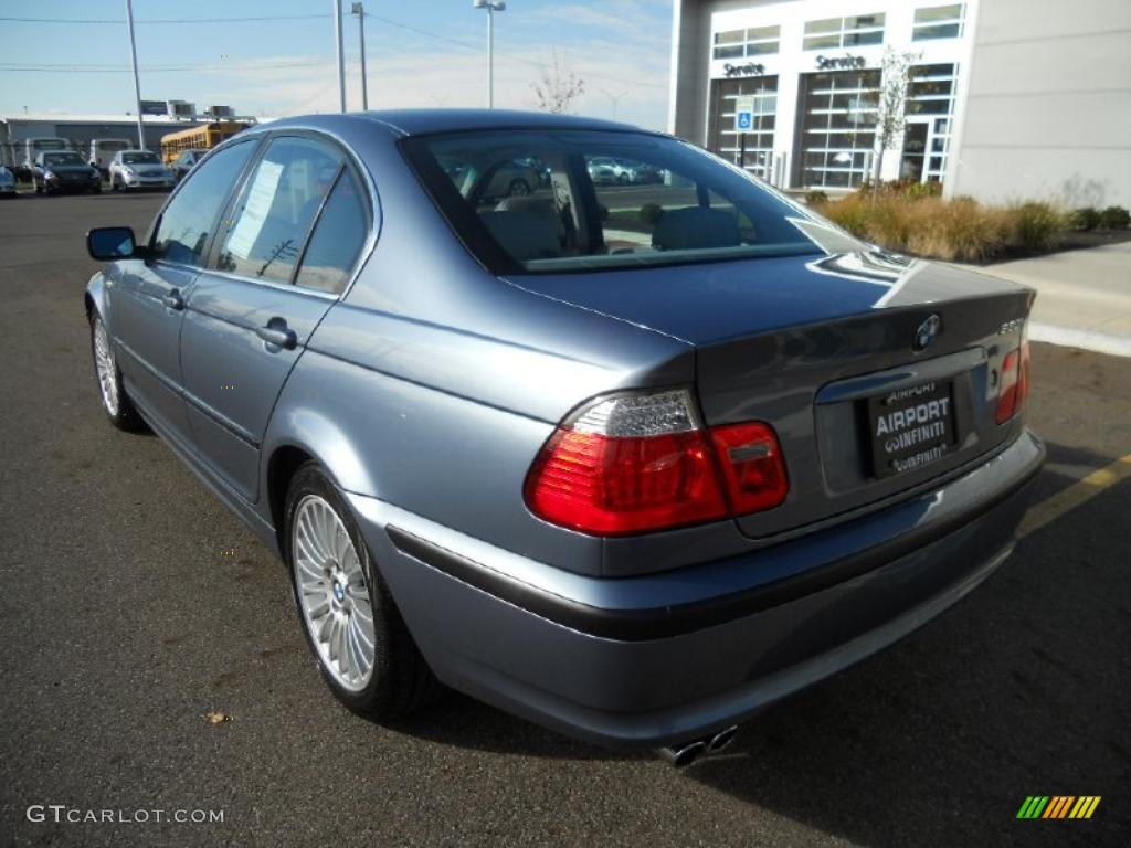 Steel Blue Metallic 2002 Bmw 3 Series 330i Sedan Exterior