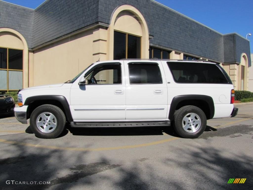 summit white 2004 chevrolet suburban 1500 lt exterior. Black Bedroom Furniture Sets. Home Design Ideas