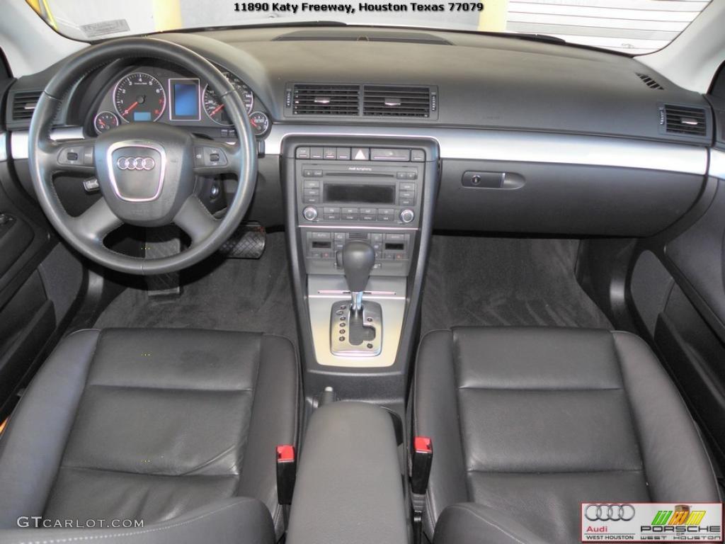 Ebony Interior 2007 Audi A4 2 0t Sedan Photo 39327244