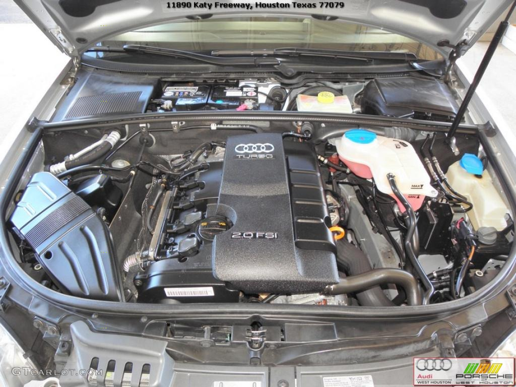 2007 audi a4 2 0t sedan 2 0 liter fsi turbocharged dohc 16. Black Bedroom Furniture Sets. Home Design Ideas