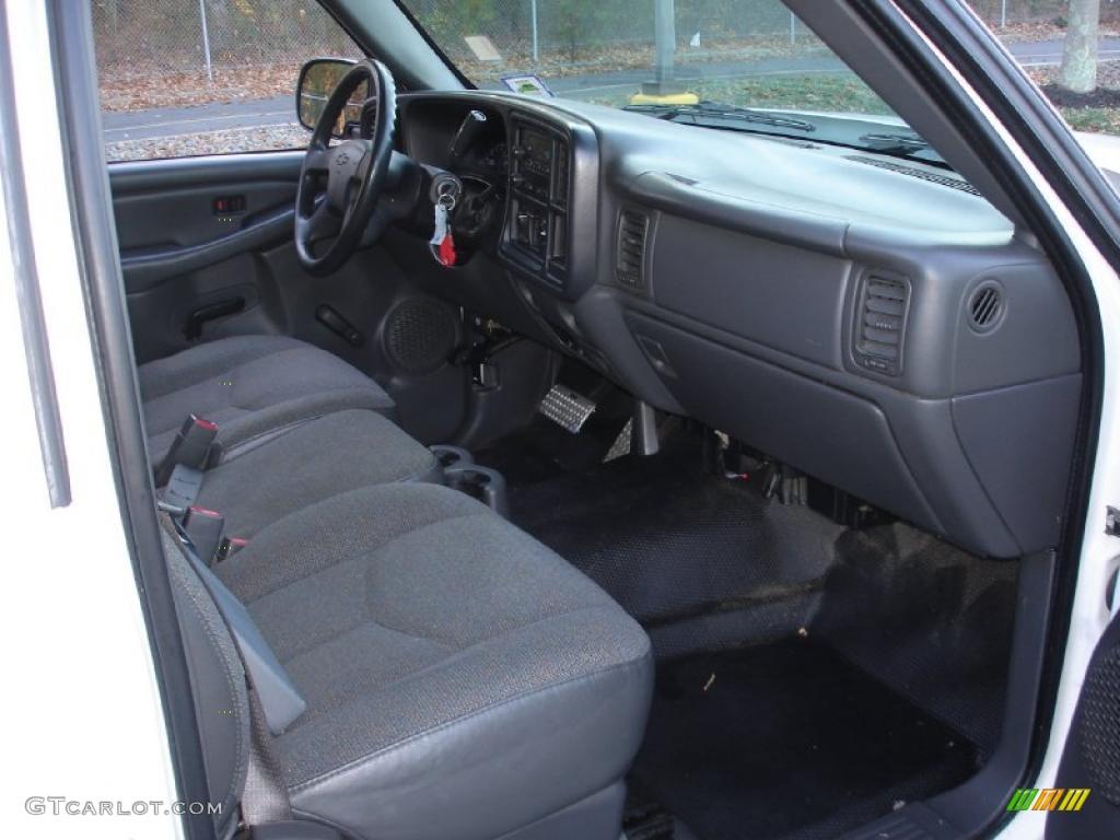 Dark Charcoal Interior 2006 Chevrolet Silverado 1500 Work ...