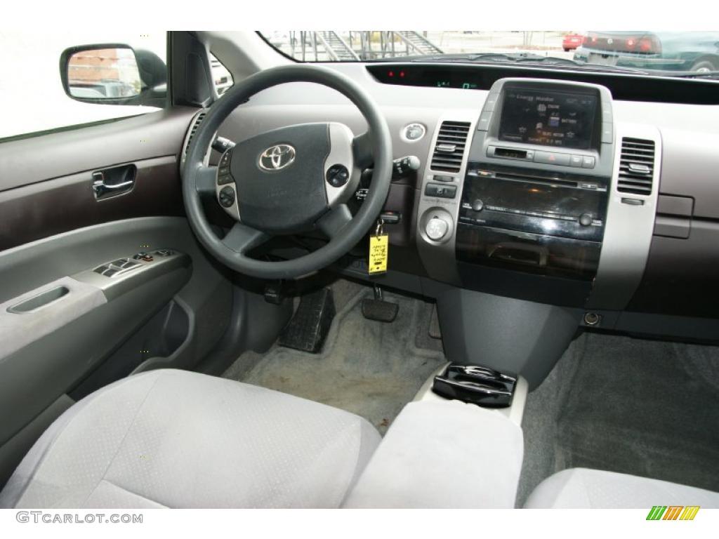 BurgundyGray Interior Toyota Prius Hybrid Photo - 2004 prius