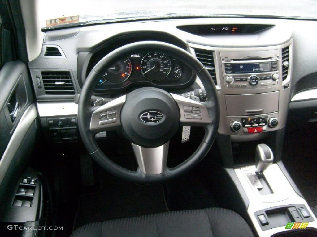 2011 Subaru Outback 2 5i Premium Wagon Off Black Dashboard