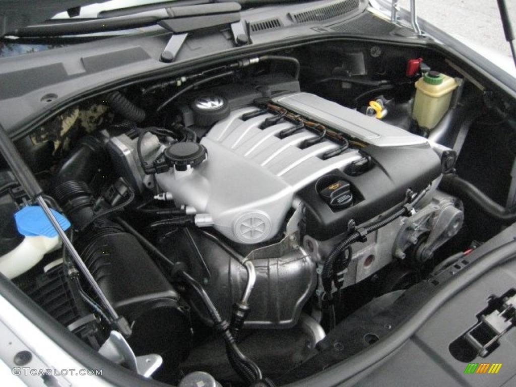 2006 Volkswagen Touareg V6 3 2 Liter Dohc 24