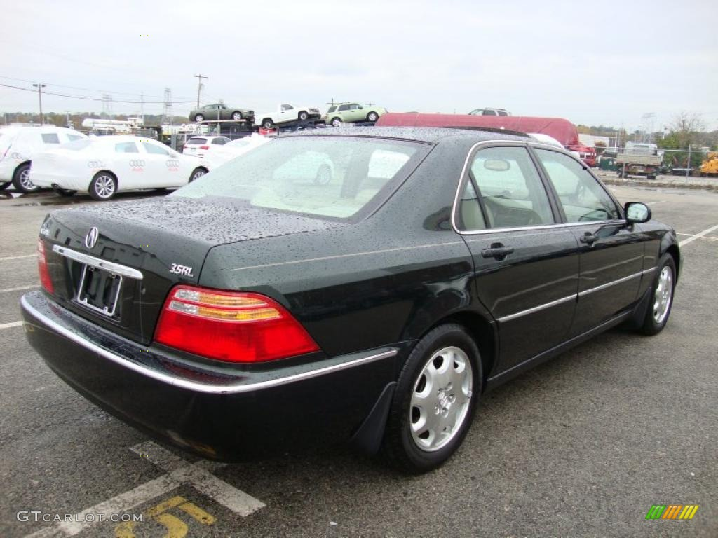 vermont green pearl 2000 acura rl 3 5 sedan exterior photo. Black Bedroom Furniture Sets. Home Design Ideas
