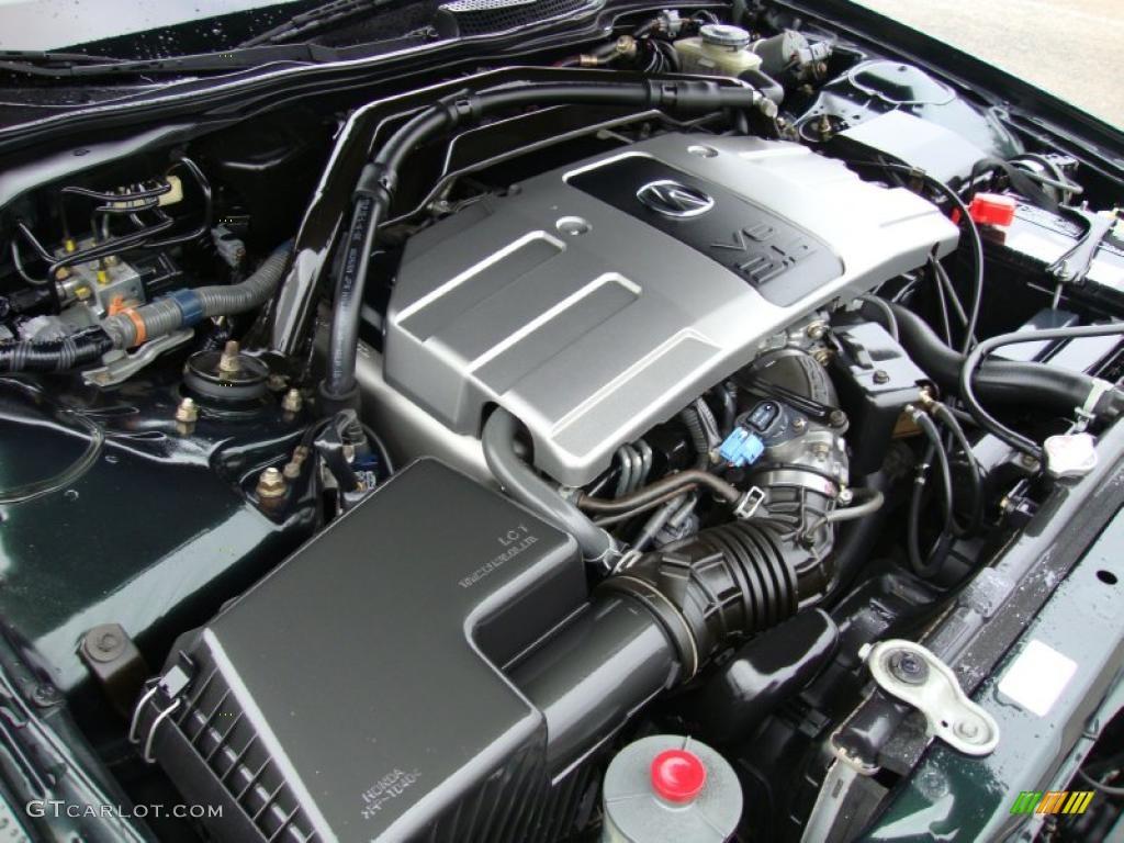 2000 acura rl 3 5 sedan 3 5 liter sohc 24 valve v6 engine. Black Bedroom Furniture Sets. Home Design Ideas