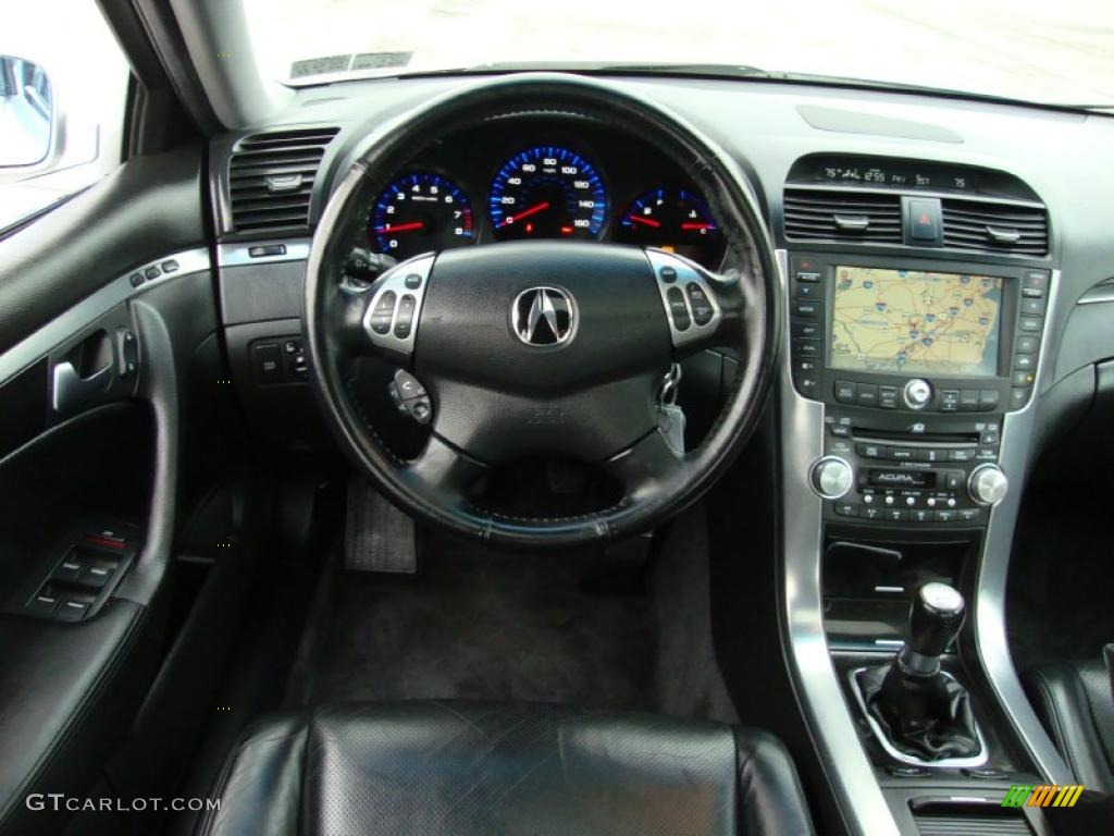 Acura TL Ebony Dashboard Photo GTCarLotcom - Acura tl 2004 dashboard