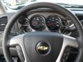 Ebony Steering Wheel Photo for 2011 Chevrolet Silverado 1500 #39343196