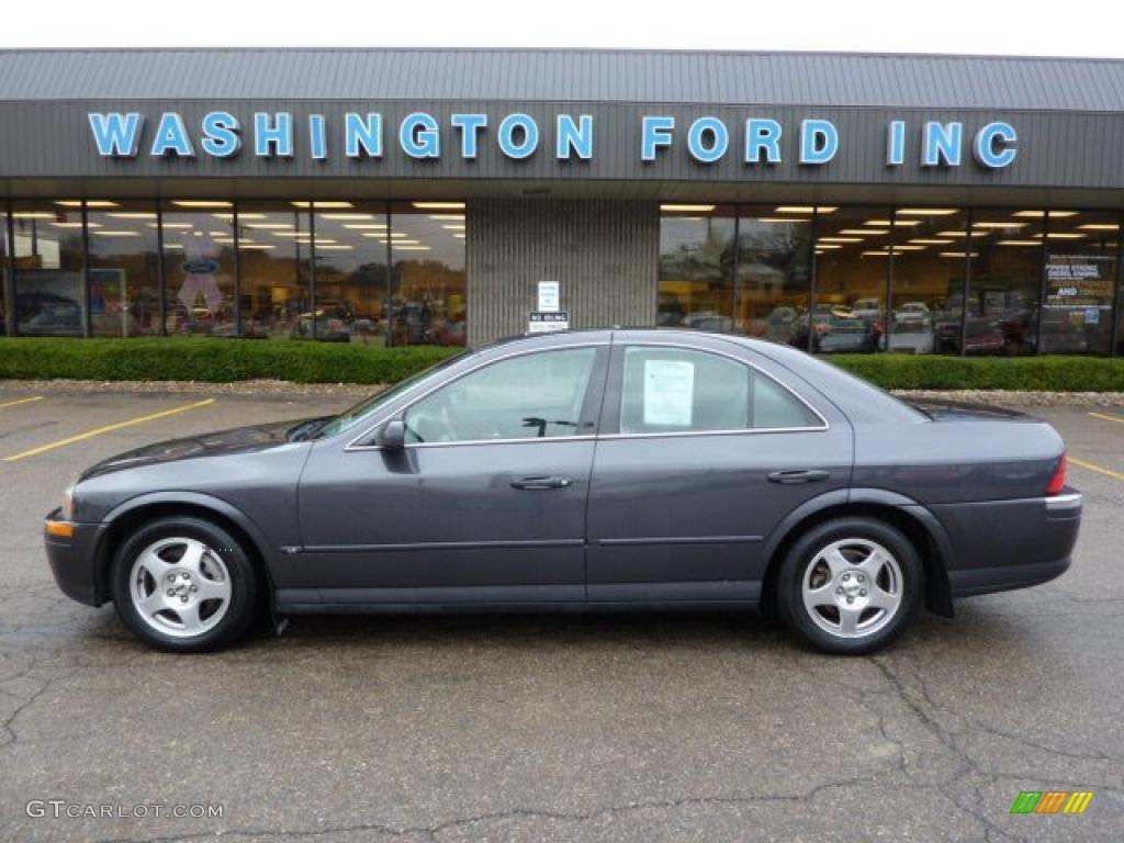 Midnight grey metallic lincoln ls