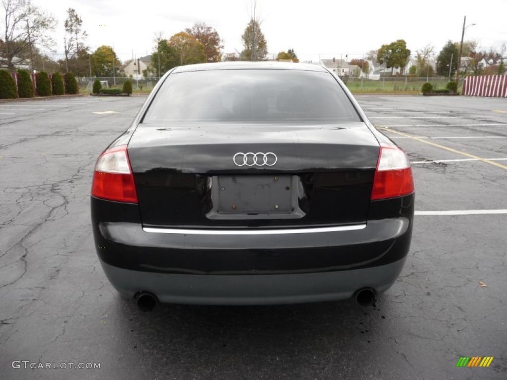 Brilliant black 2003 audi a4 1 8t quattro sedan exterior photo 39357056 gtcarlot com