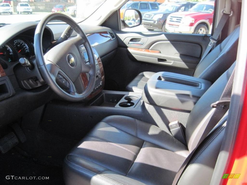 chevrolet avalanche interior ebony - photo #14