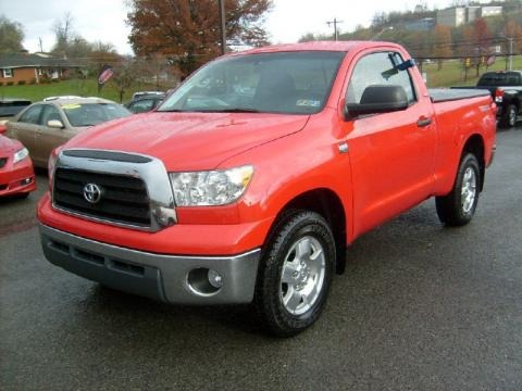 2007 Toyota Tundra TRD Regular Cab 4x4 Data, Info and Specs
