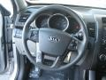 2011 Bright Silver Kia Sorento LX  photo #10