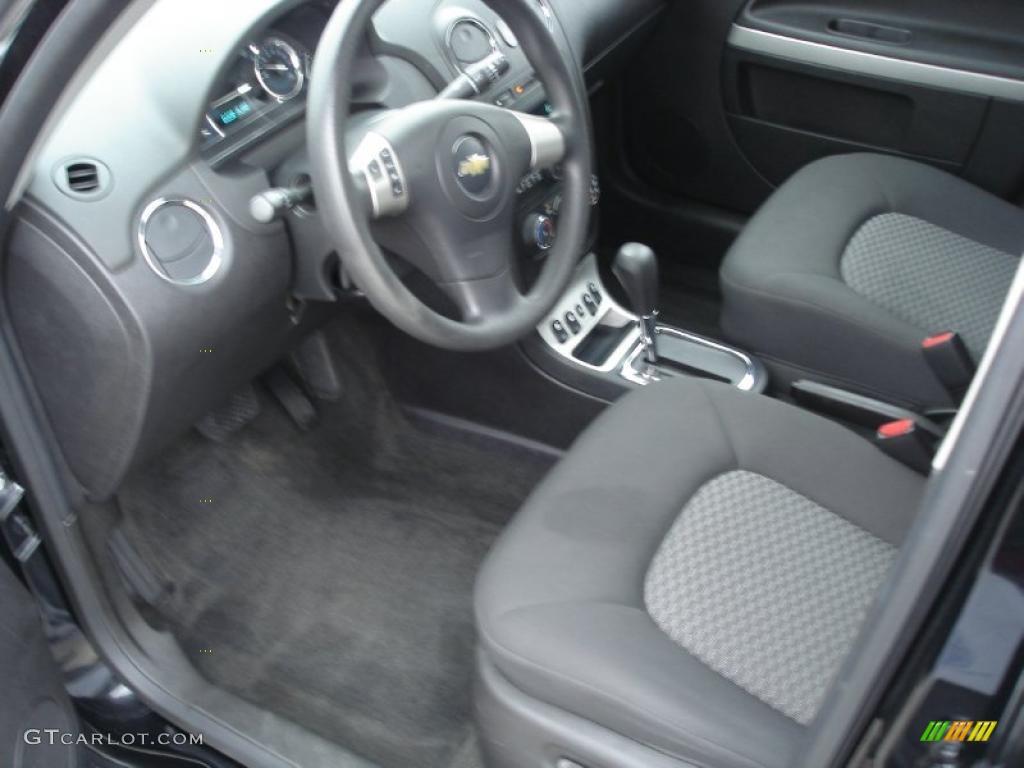 Ebony Black Interior 2007 Chevrolet Hhr Lt Photo 39361696