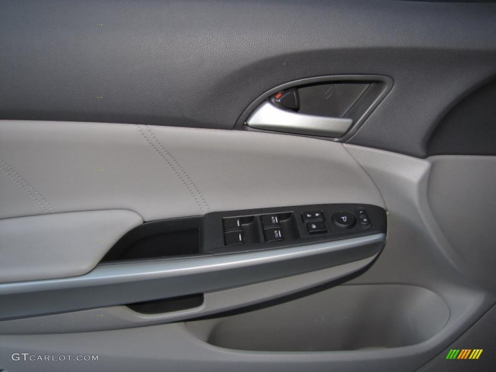 2009 Honda Accord Ex L V6 Sedan Gray Door Panel Photo 39372882