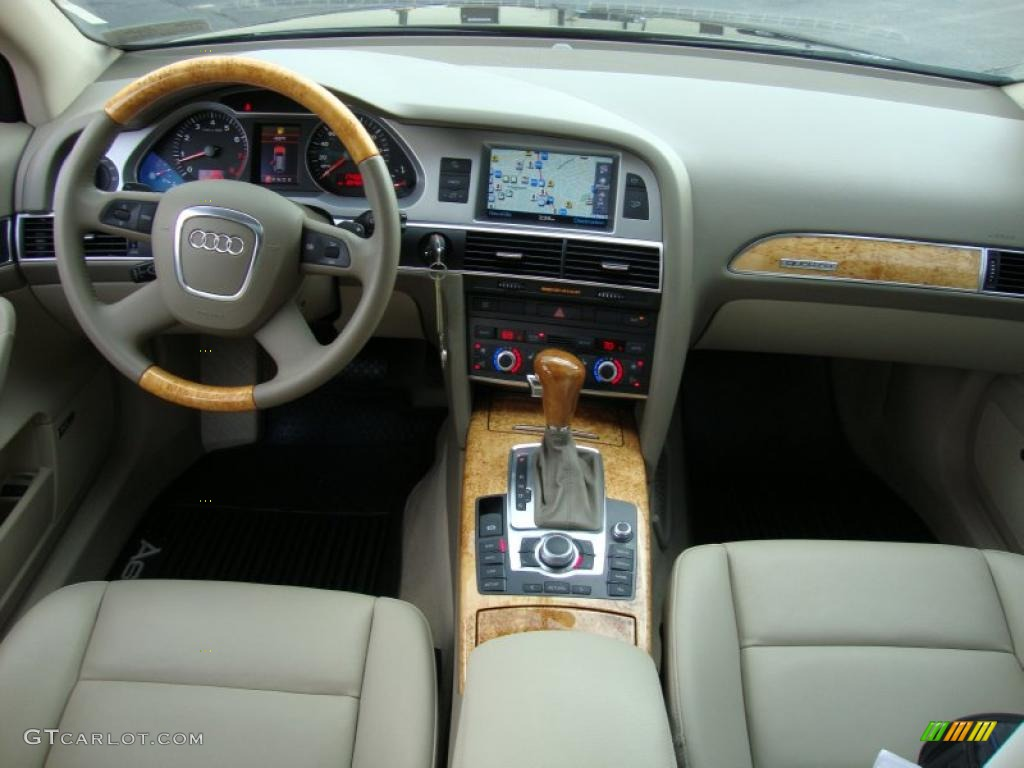cardamom beige interior 2008 audi a6 3 2 quattro avant. Black Bedroom Furniture Sets. Home Design Ideas