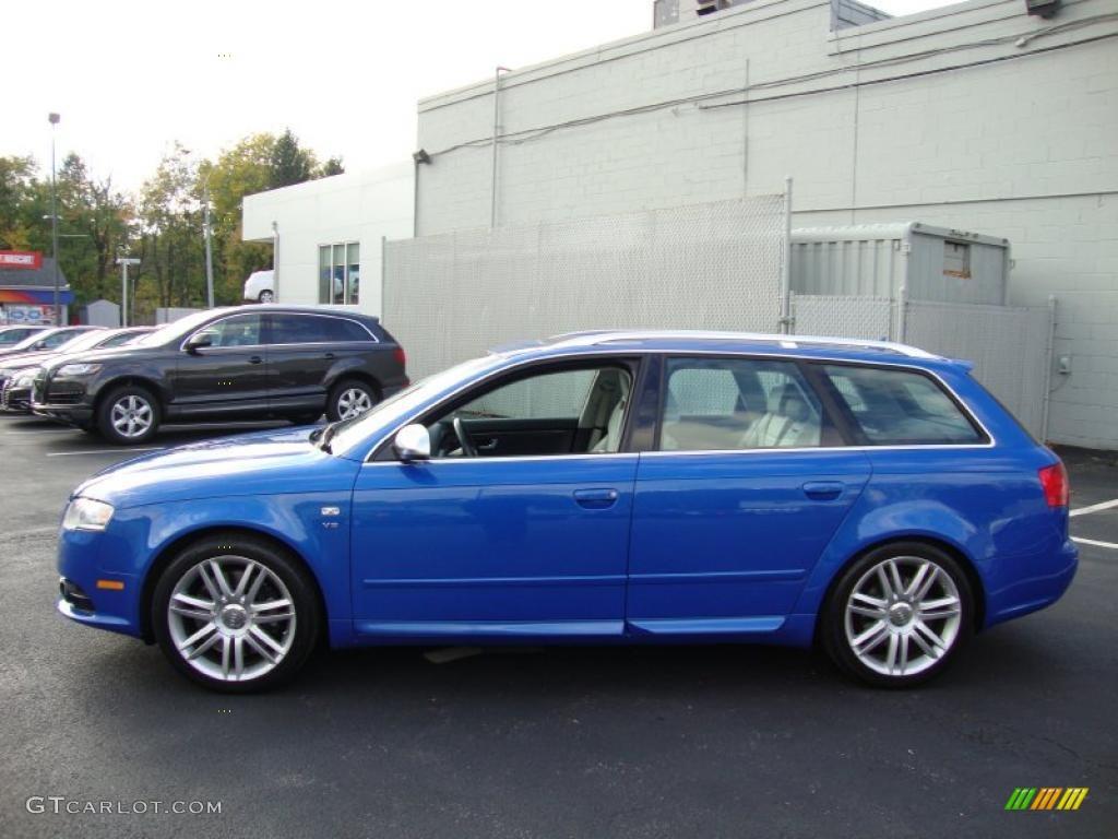 Sprint Blue Pearl Effect 2007 Audi S4 4 2 Quattro Avant