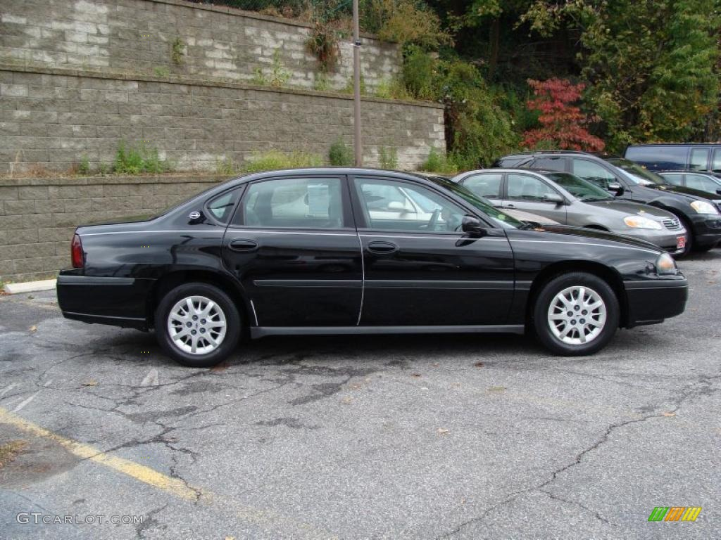 black 2003 chevrolet impala standard impala model exterior. Cars Review. Best American Auto & Cars Review