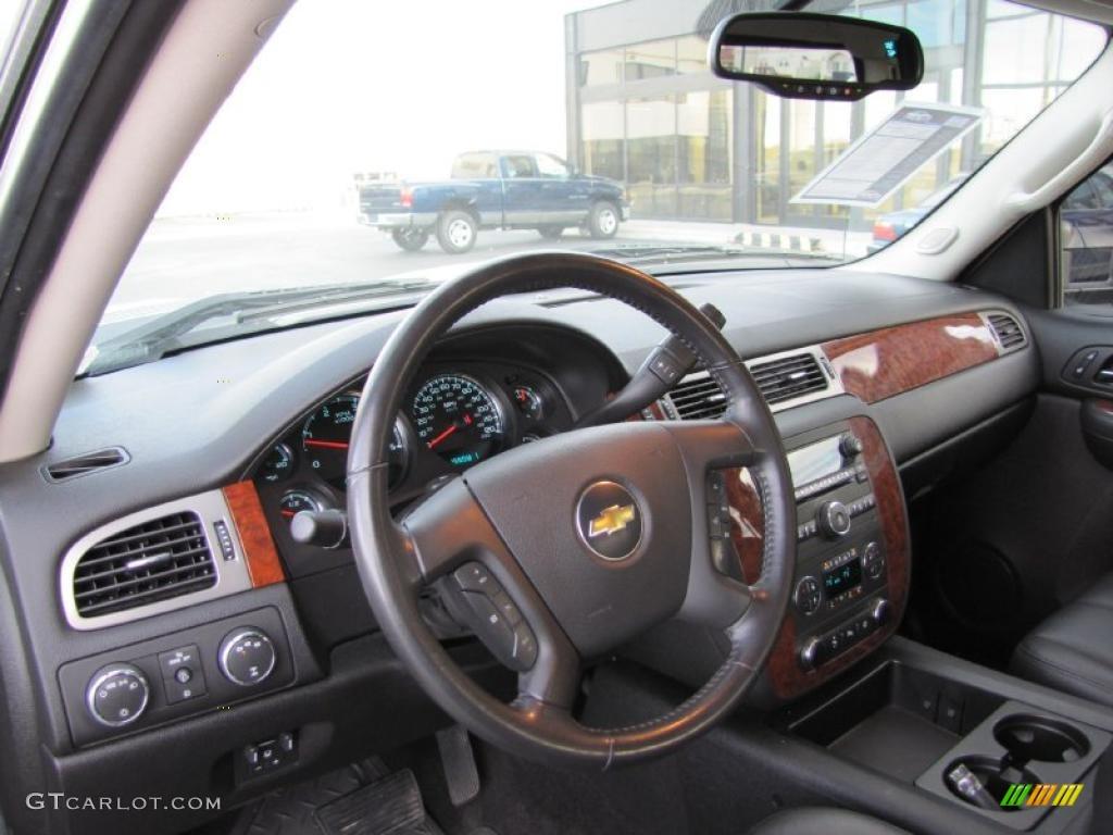 2008 Chevrolet Silverado 2500hd Ltz Crew Cab 4x4 Ebony Black Dashboard Photo 39382109