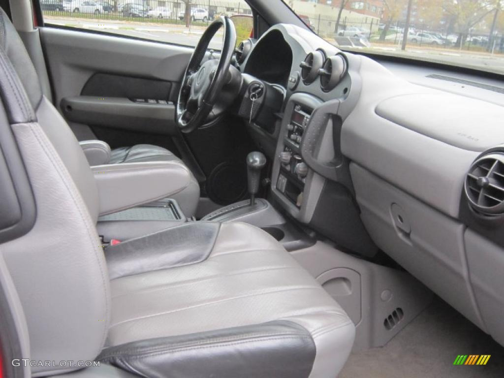 dark gray interior 2001 pontiac aztek standard aztek model. Black Bedroom Furniture Sets. Home Design Ideas