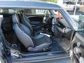 Lounge Carbon Black Leather Interior Photo for 2009 Mini Cooper #39394166