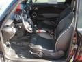 Lounge Carbon Black Leather Interior Photo for 2009 Mini Cooper #39394321