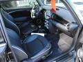 Lounge Carbon Black Leather Interior Photo for 2009 Mini Cooper #39394485