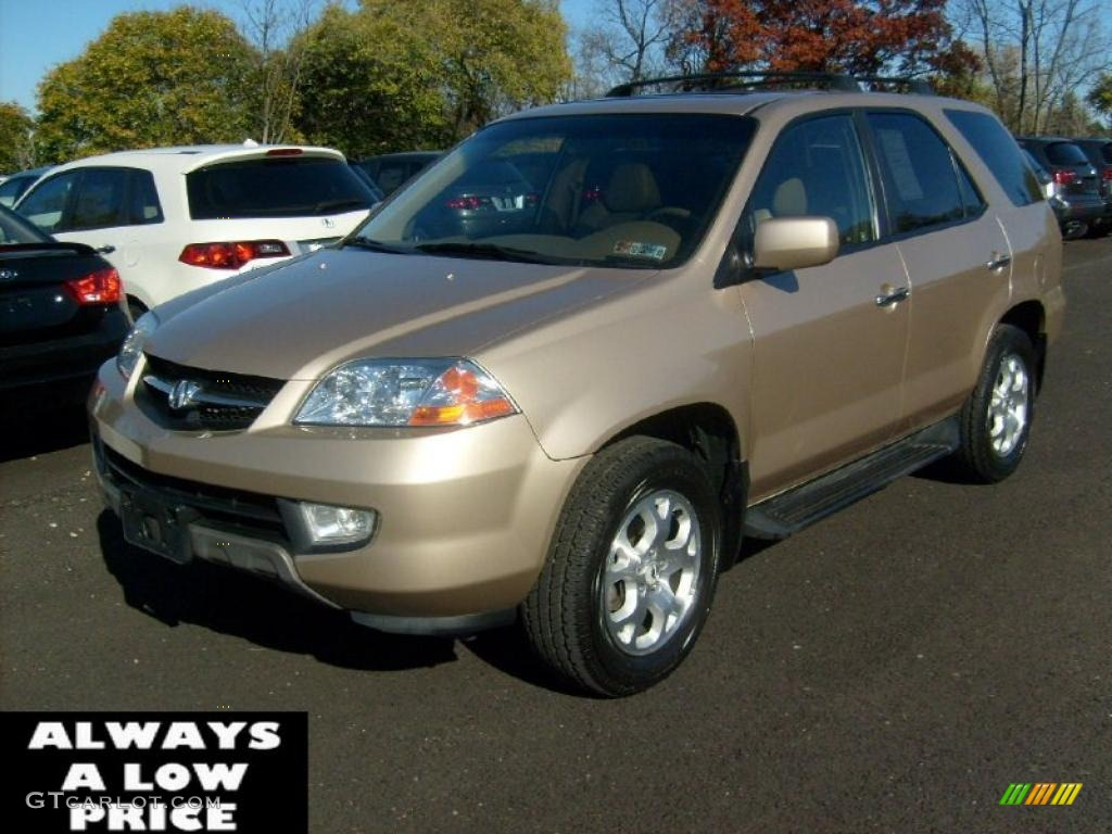 2002 mesa beige metallic acura mdx touring 39387890. Black Bedroom Furniture Sets. Home Design Ideas