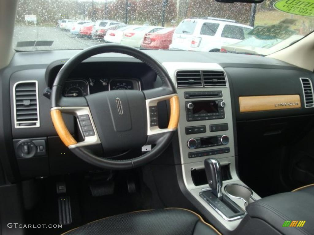 charcoal black interior 2008 lincoln mkx awd photo. Black Bedroom Furniture Sets. Home Design Ideas