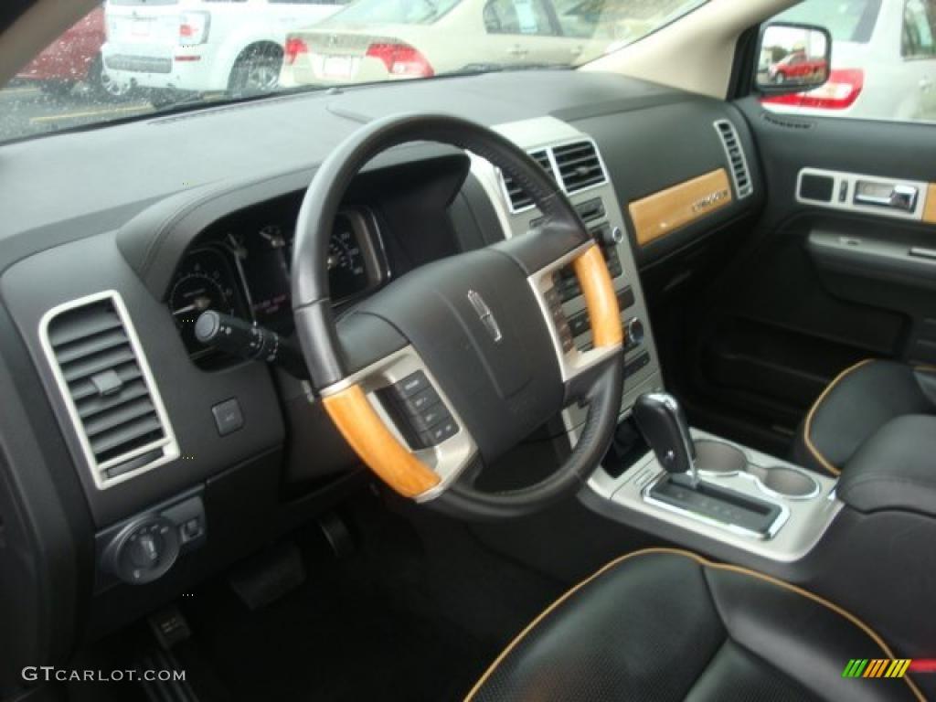 Charcoal Black Interior 2008 Lincoln Mkx Awd Photo 39397329