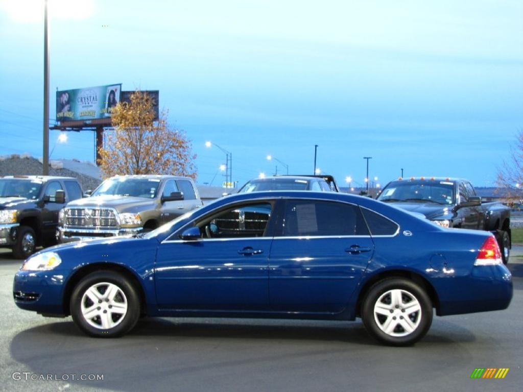2006 laser blue metallic chevrolet impala ls 39388363 car color galleries. Black Bedroom Furniture Sets. Home Design Ideas