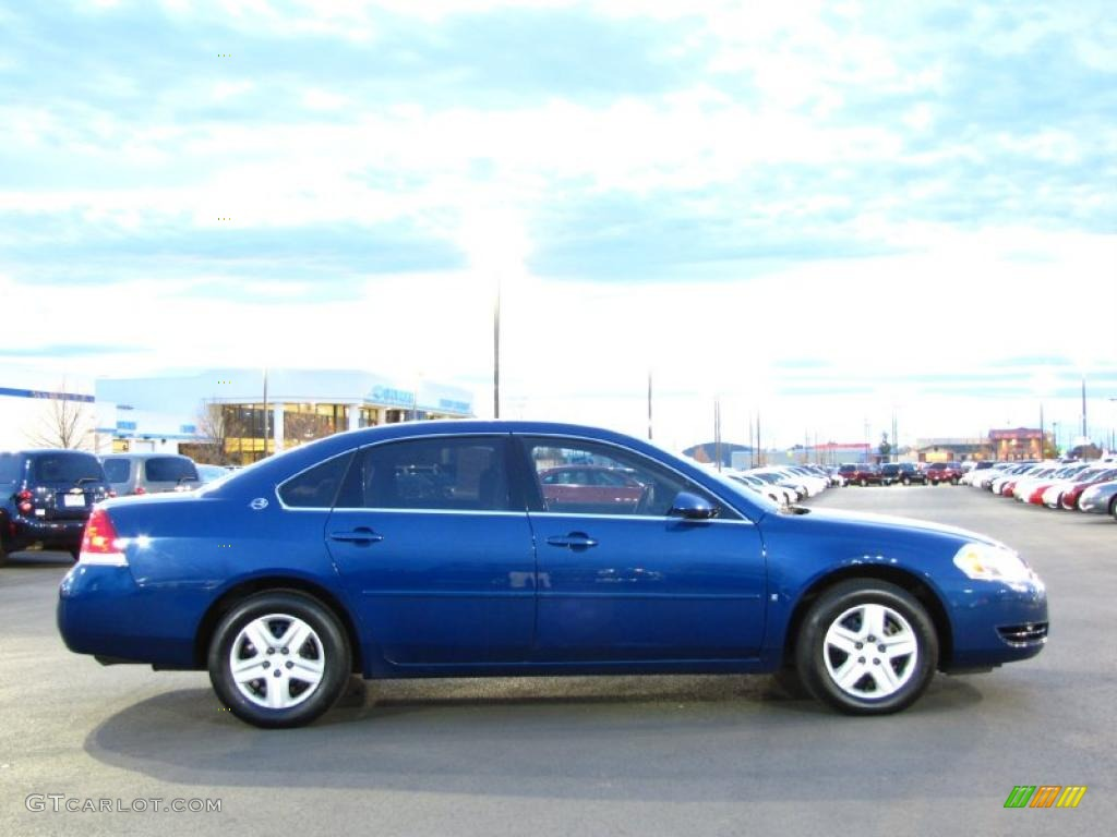 laser blue metallic 2006 chevrolet impala ls exterior. Black Bedroom Furniture Sets. Home Design Ideas
