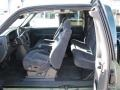 2002 Forest Green Metallic Chevrolet Silverado 1500 LS Extended Cab 4x4  photo #4