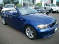 Front 3/4 View of 2010 1 Series 128i Convertible