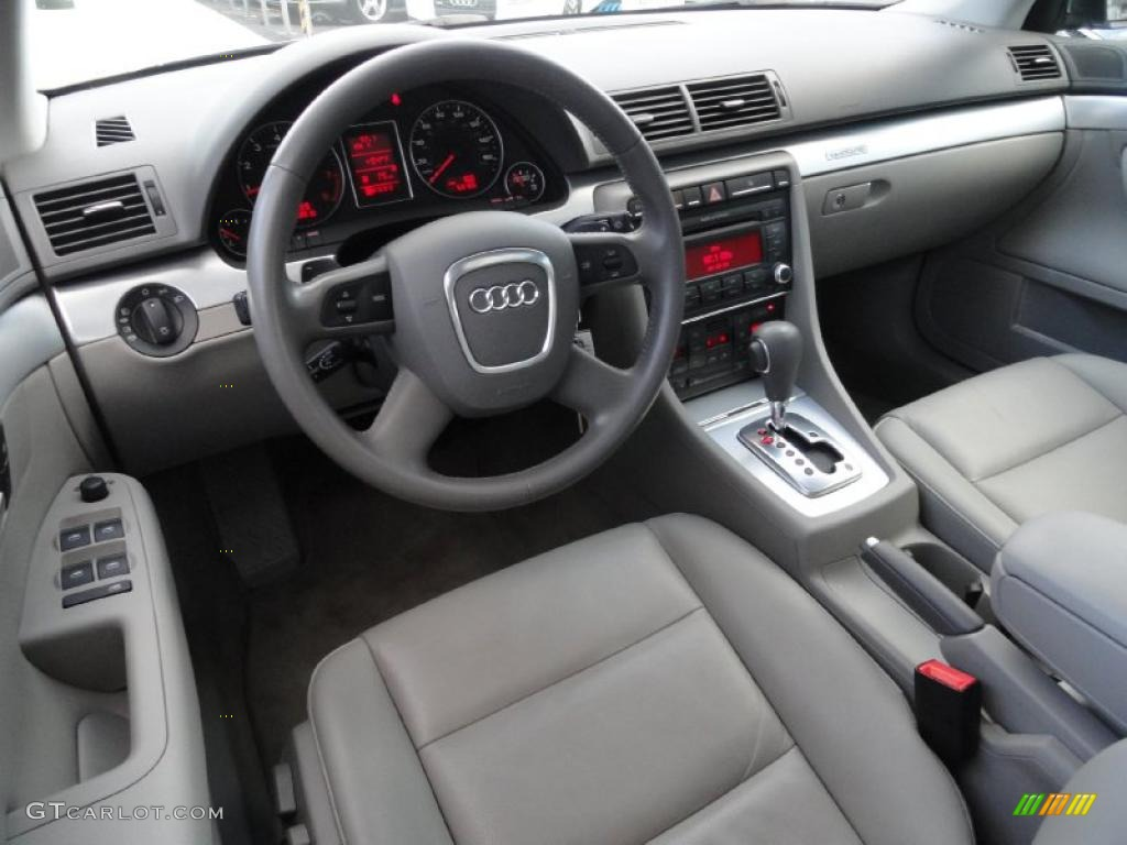 light gray interior 2008 audi a4 2 0t quattro sedan photo. Black Bedroom Furniture Sets. Home Design Ideas