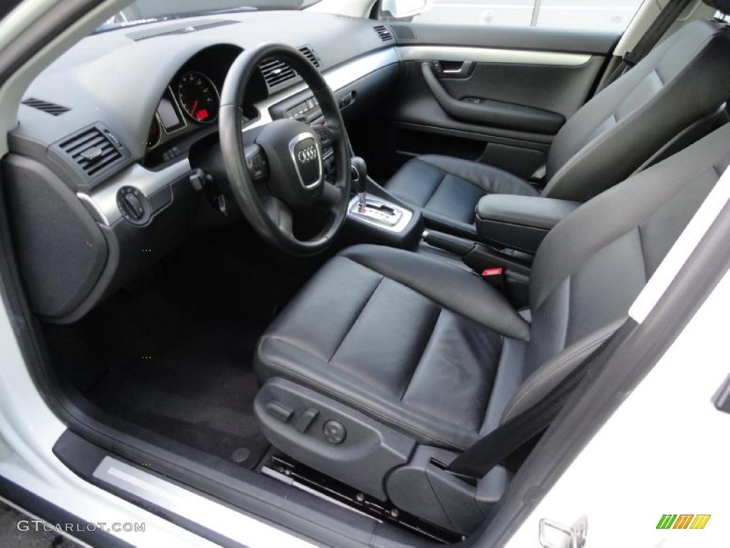 black interior 2008 audi a4 2 0t quattro s line sedan photo 39411749. Black Bedroom Furniture Sets. Home Design Ideas
