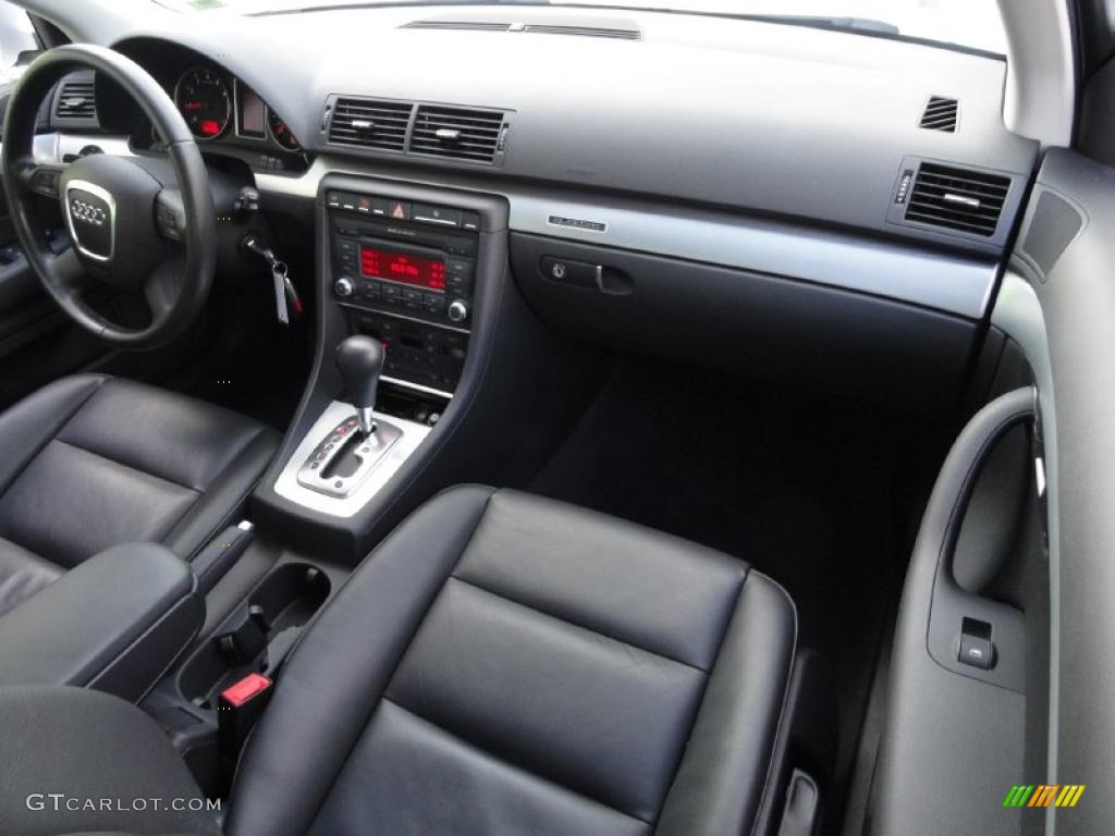 2008 audi a4 2 0t quattro s line sedan black dashboard photo 39411781. Black Bedroom Furniture Sets. Home Design Ideas