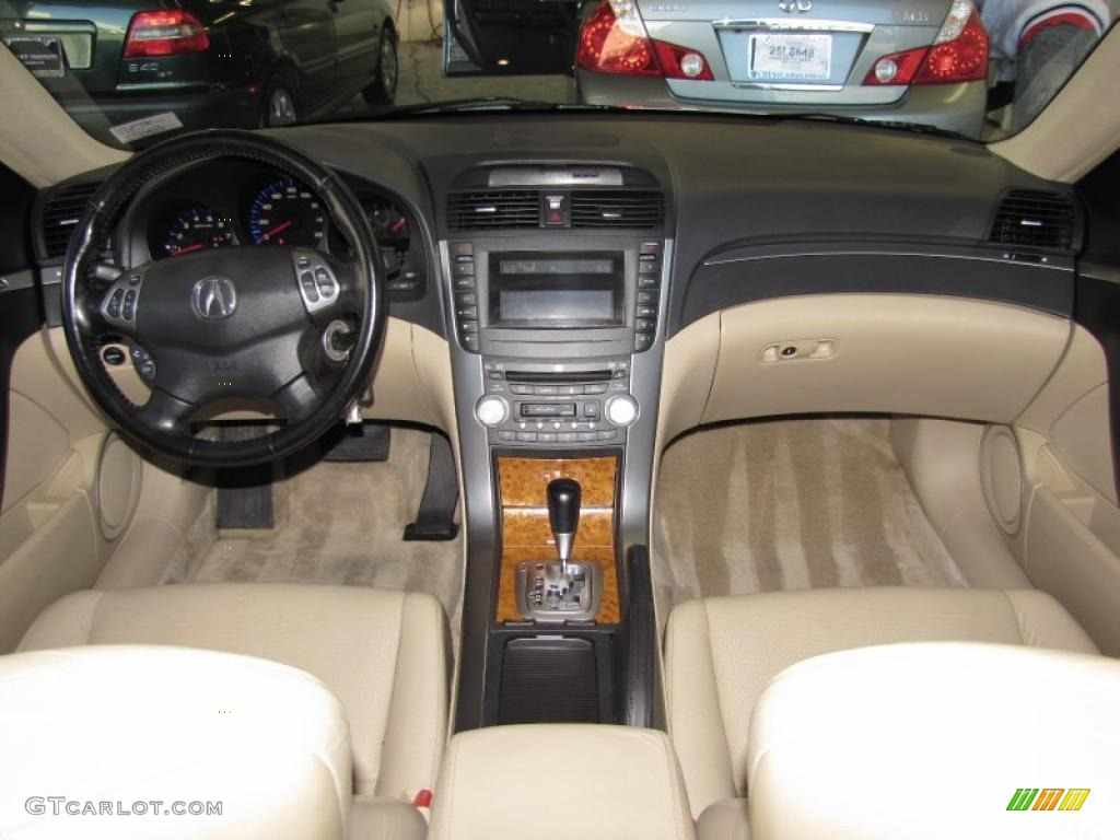 Parchment Interior 2005 Acura Tl 3 2 Photo 39412961 Gtcarlot Com