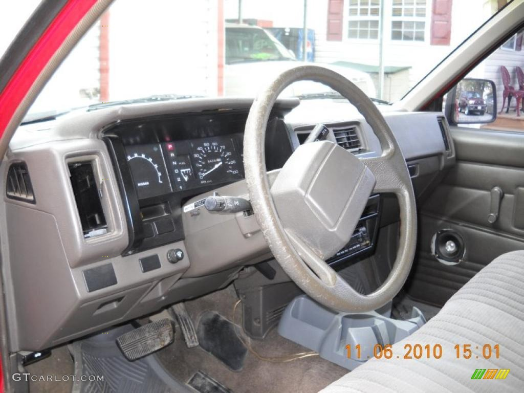 1990 Nissan Pickup Interior