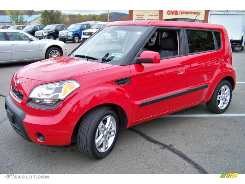 Molten red 2010 kia soul exterior photo 39420533 2012 kia soul exterior colors
