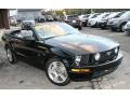 2007 Black Ford Mustang GT Premium Convertible  photo #3