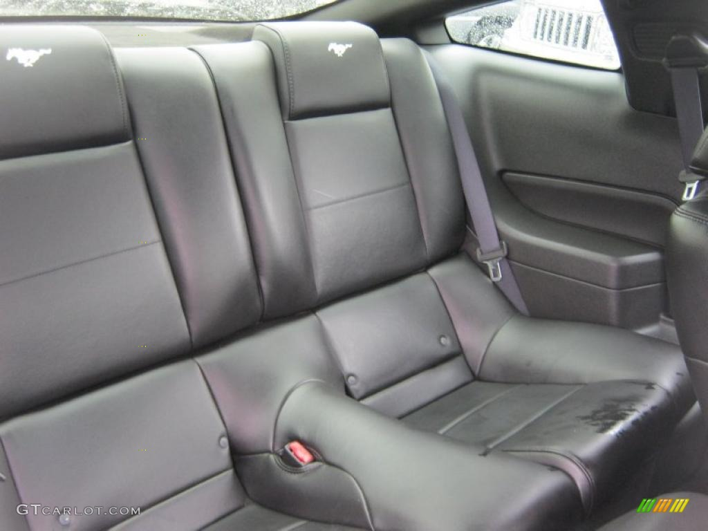 Dark Charcoal Interior 2006 Ford Mustang V6 Premium Coupe Photo #39422078