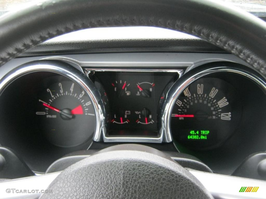 2006 Ford Mustang V6 Premium Coupe Gauges Photo #39422158
